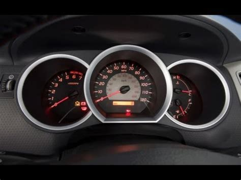 Maintenance Required Light Toyota Tacoma by How To Reset The Maint Reqd Light On A Toyota Tacoma Af