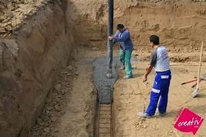 fondations fondation coulage avec pompe les etapes de With maison en beton coule 5 fondations fondation maison etage les etapes de construction