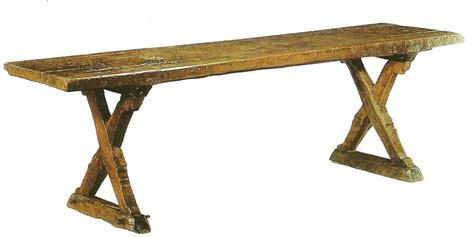 middle ages furniture design history the list