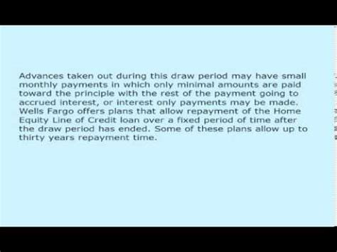 Fargo Home Equity Line by Fargo Home Equity Lines Of Credit Explained 989