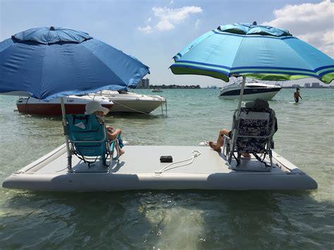 Boat Dock Swim Platform by Heavy Duty Island Dock Swim Platform