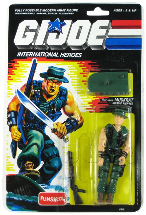 muskrat  gi joe action figure yojoe archive