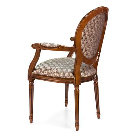 sedia luigi xvi luigi xvi poltroncina in legno classica imbottita