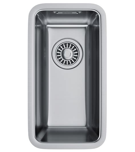 franke stainless steel undermount kitchen sinks franke kubus kbx 110 16 34 stainless steel undermount 8265