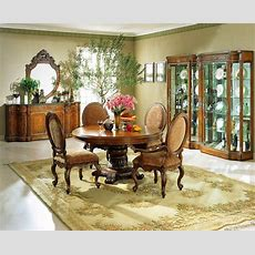 The Tapestry Formal Round Dining Room Collection  Dining
