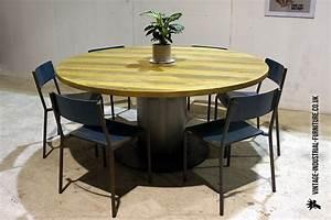 unique vintage industrial dining room table vintage round With vintage industrial dining room table