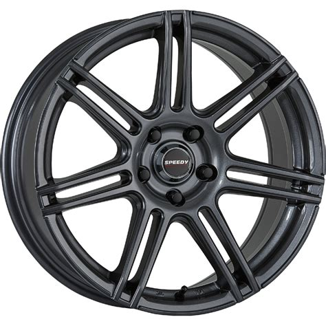 Speedy Wheels Alien Gloss Gunmetal