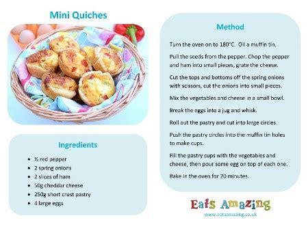easy cook recipes easy mini quiches recipe eats amazing