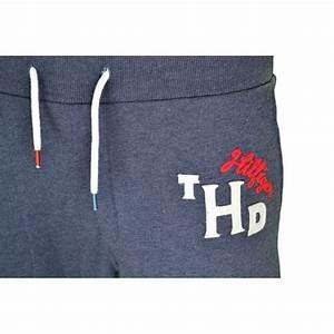 Pantalon Bleu Marine Homme : pantalon jogging tommy hilfiger bleu marine pour homme ~ Melissatoandfro.com Idées de Décoration