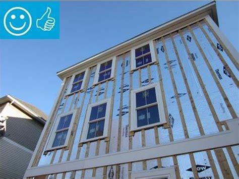 rigid foam insulation  existing exterior walls