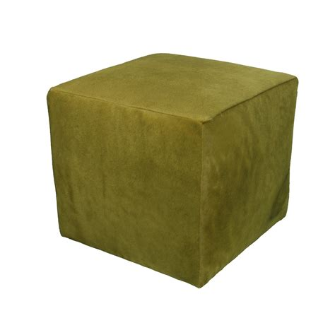 Cowhide Cube Ottoman by Cube Cowhide Ottoman Rentals Trade Show Furniture Rental