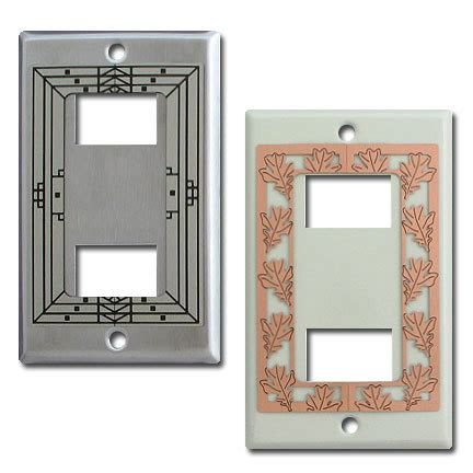 decorative two ge original low voltage wall switch plates