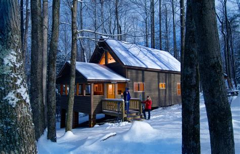 new river gorge cabins west virginia s new river gorge an ultimate winter retreat