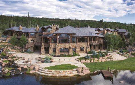luxury mansion floor plans aspen grove ranch a 350 acre estate in kremmling co