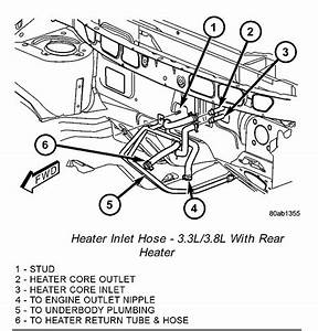2000 Ford Expedition Heater Hose Routing