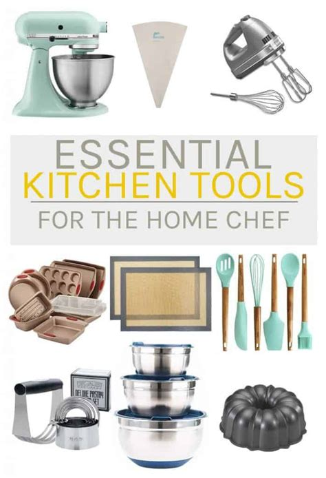 essential kitchen tools  chef   darling vegan