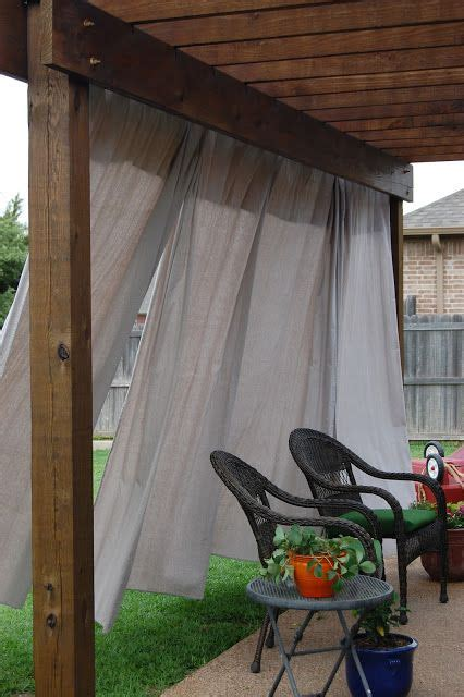 curtain designs like this pergola with curtains patio ideas