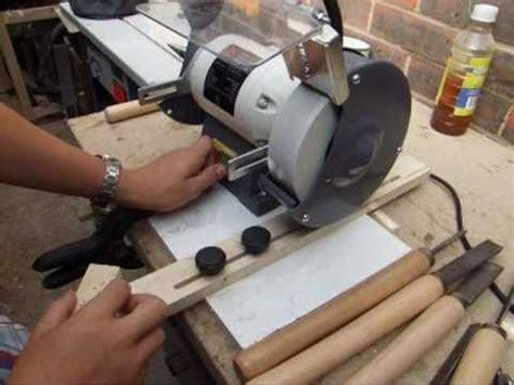 build sharpening jig   bench grinder