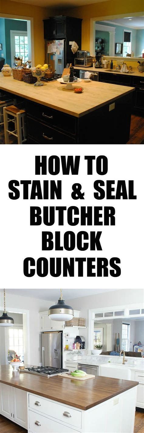 Butcher blocks, Butcher block counters and Stains on Pinterest