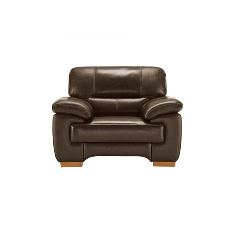 clayton armchair in light brown leather oak furniture land