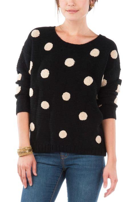 polka dot sweater freeland polka dot sweater 39 s