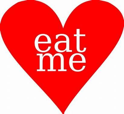 Heart Eat Clip Clipart Disease Clker Tattoo