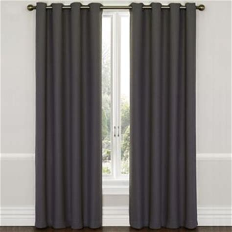 jcpenney white blackout curtains eclipse westbury grommet top blackout curtain panel with