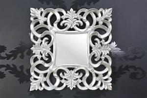 Wandspiegel Design Modern : wandspiegel modern barock silber ~ Indierocktalk.com Haus und Dekorationen