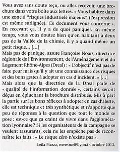 Le couloir de la chimie au sud de Lyon L'histoire géographie au CFA d'Eschau