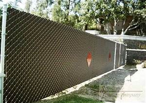 Be Inspired: A Chain Link Fence is a Blank Canvas Fence