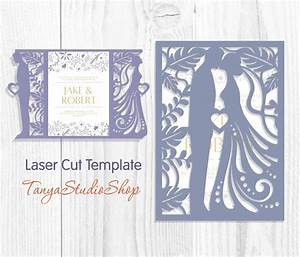 1985 best silhouette cameo images on pinterest With laser cut wedding invitations file