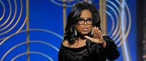 In Golden Globes speech, Oprah looks to 'time when nobody ...