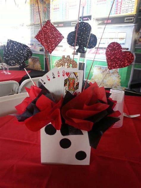 casino party theme centerpiece casino party theme ideas