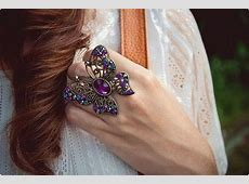 Latest Trend Of Big Artificial Rings For Girls Life n