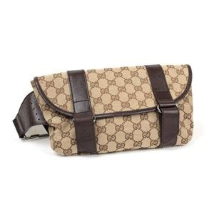 gucci monogram gg belt bagwaist pouch tradesy
