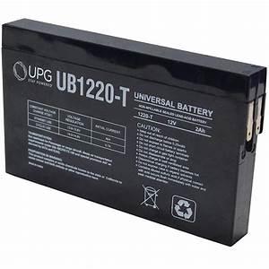 UPG SLA 12-Volt ST Side Terminal Battery-UB1220-T - The ...