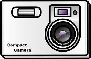 Slim Camera Clip Art at Clker.com - vector clip art online ...