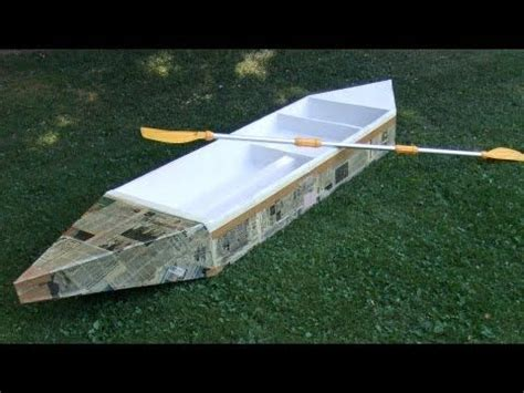 Cardboard Boat Hacks by How To Build A Durable Cardboard Boat Aci