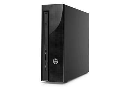 hp pc bureau pc de bureau hp slimline 260 a101nf 4262689 darty