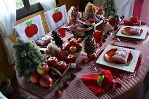 Table De Noel Traditionnelle : dresser une table de no l traditionnelle ~ Melissatoandfro.com Idées de Décoration