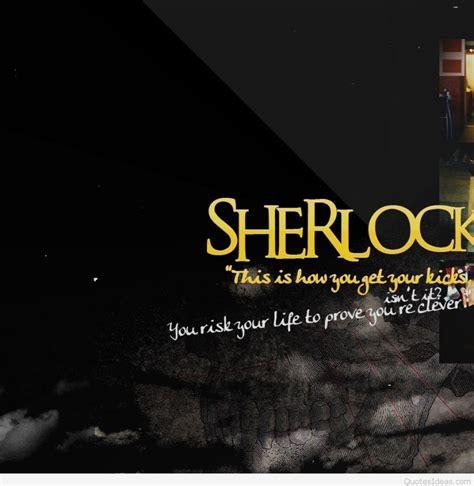 sherlock quotes images  sherlock wallpapers
