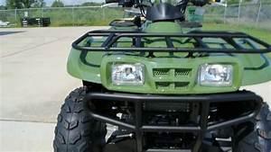 Review  2013 Kawasaki Prairie 360 4x4 In Scout Green