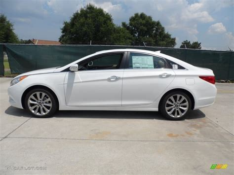 Hyundai Sonata Limited 2013 by Shimmering White 2013 Hyundai Sonata Limited 2 0t Exterior