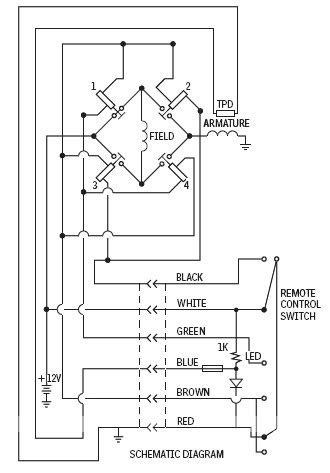warn 9 5 xp wiring diagram wiring diagram and schematic diagram