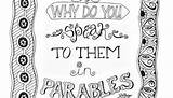 Seed Mustard Coloring Pages Printable Parable Seeds Sower Parables Printables Gospel Religion Wordpress sketch template