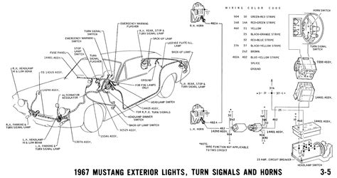 Mustang Alternator Wiring Diagram Schematic