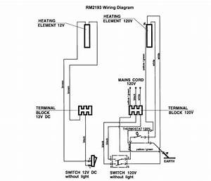 Dometic Rm2193 Wiring Diagram