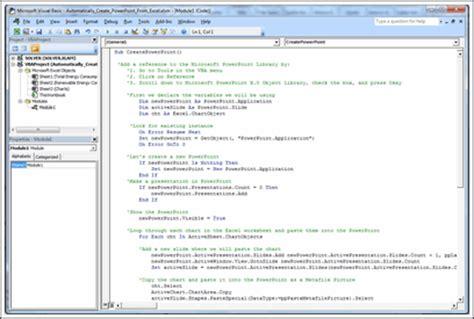 create powerpoint  automatically  vba