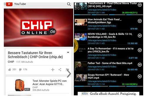 baixar de videos do youtube auf handy speichern