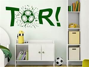 Fussball Kinderzimmer Ideen : kinderzimmer wandtattoos ideen und tolle beispiele ~ Markanthonyermac.com Haus und Dekorationen